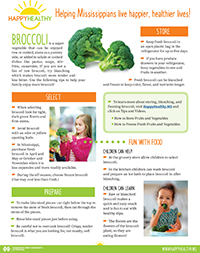 Click to download Brocolli Newsletter.