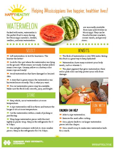 Download HappyHealthy Watermelon Newsletter (P3524)