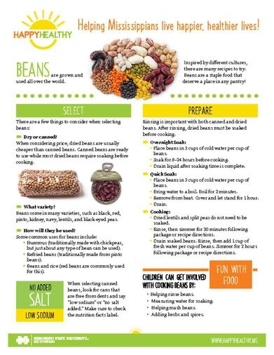 Download HappyHealthy Beans Newsletter (P3612)