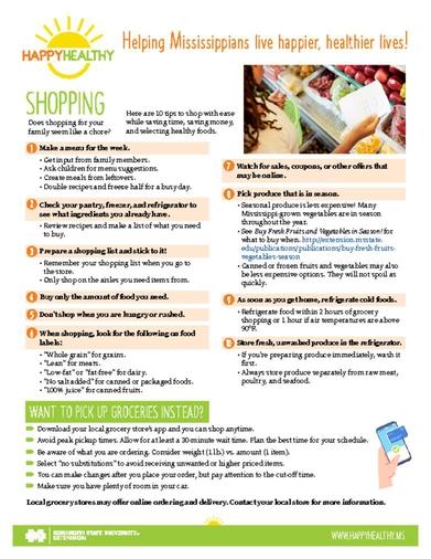 Download HappyHealthy Blueberries Newsletter (P3603)